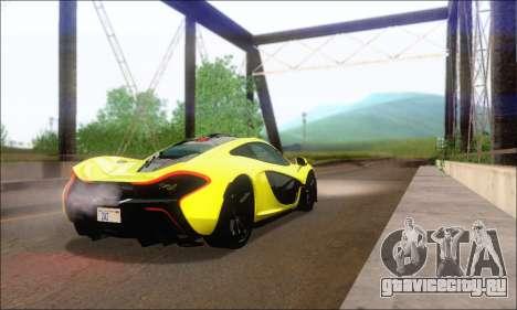 McLaren P1 EPM для GTA San Andreas вид справа