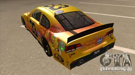 Chevrolet SS NASCAR No. 33 Cheerios для GTA San Andreas вид сзади