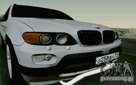 BMW X5 для GTA San Andreas вид справа