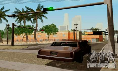 ENBSeries for low PC для GTA San Andreas восьмой скриншот
