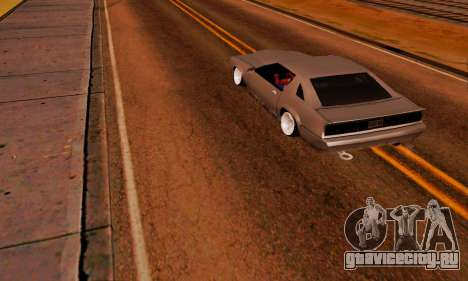 New Buffalo для GTA San Andreas вид сзади слева