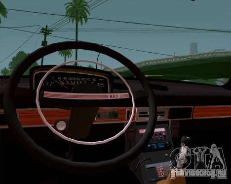 ВАЗ 21011 Милиция для GTA San Andreas вид справа