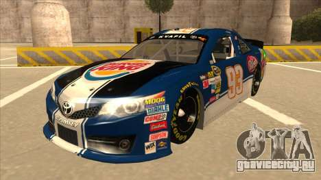Toyota Camry NASCAR No. 93 Burger King Dr Pepper для GTA San Andreas
