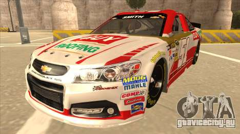 Chevrolet SS NASCAR No. 51 Guy Roofing для GTA San Andreas