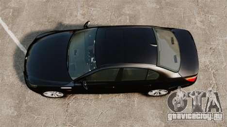 BMW M5 E60 Metropolitan Police Unmarked [ELS] для GTA 4 вид справа