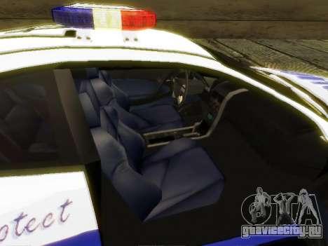 Pontiac GTO Pursit Edition для GTA San Andreas вид сзади