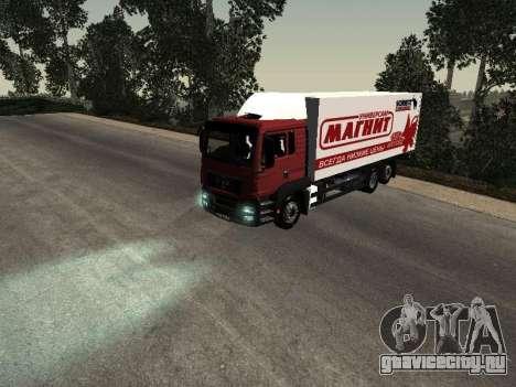 MAN TGA 26 350 Магнит для GTA San Andreas