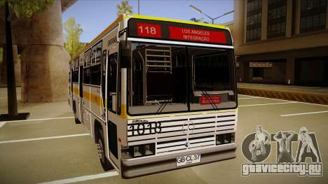 Caio Vitoria MB OF 1318 Cidade Morena для GTA San Andreas вид слева