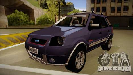 Ford Ecosport FreeStyle 2007 для GTA San Andreas