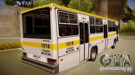 Caio Vitoria MB OF 1318 Cidade Morena для GTA San Andreas вид справа