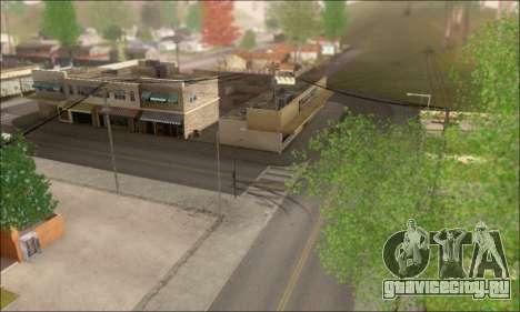 Пустые улицы (Screenshots) для GTA San Andreas второй скриншот