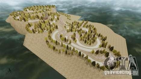 Локация Okutama FZC для GTA 4