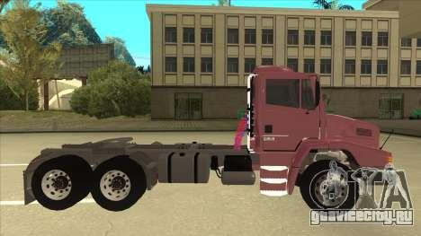 Mrecedes-Benz LS 2638 Canaviero для GTA San Andreas вид слева