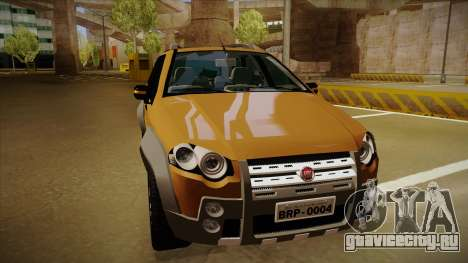 FIAT Palio Weekend Adventure Locker 2010 для GTA San Andreas вид слева
