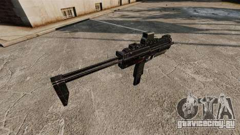 Пистолет-пулемёт HK MP7 v2 для GTA 4 четвёртый скриншот