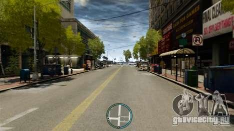 Центральное расположение радара для GTA 4 третий скриншот