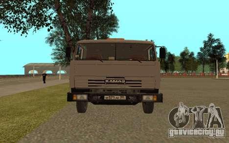 КамАЗ 53115 Цементовоз для GTA San Andreas вид справа