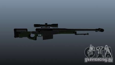 Снайперская винтовка AW50F для GTA 4 третий скриншот