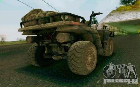 ATV из Medal of Honor для GTA San Andreas вид слева