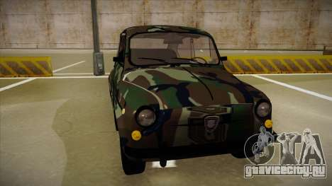 Zastava 750 Camo для GTA San Andreas вид слева