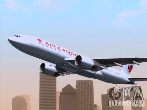 Boeing 777-200ER Air Canada для GTA San Andreas двигатель