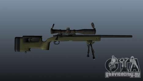 Снайперская винтовка  M40A3 для GTA 4 третий скриншот