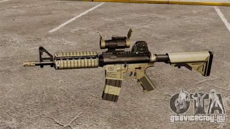 Автоматический карабин М4 CQBR v1 для GTA 4 третий скриншот