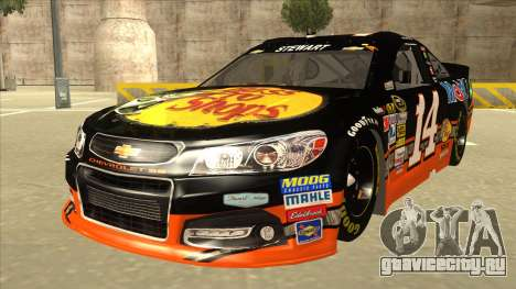Chevrolet SS NASCAR No. 14 Mobil 1 Bass Pro Shop для GTA San Andreas