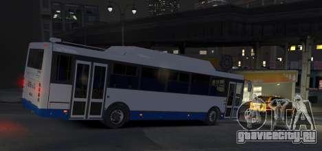 ЛиАЗ 5256.57-01 2013 для GTA 4 вид сзади слева