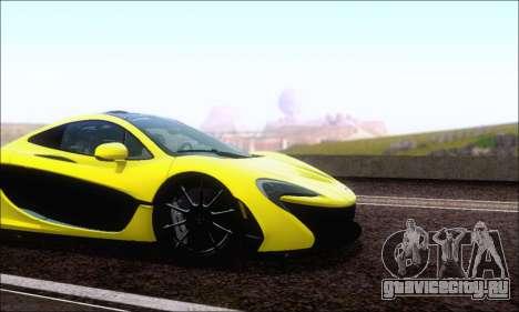 McLaren P1 EPM для GTA San Andreas вид слева