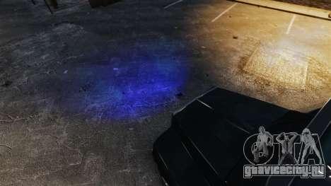 Синий свет фар для GTA 4 второй скриншот