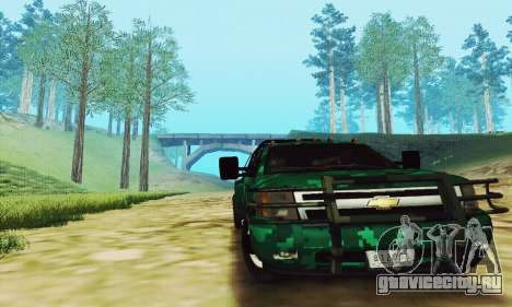 Chevrolet Silverado 3500 Military для GTA San Andreas вид слева