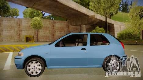 FIAT Palio EX 2003 для GTA San Andreas вид сзади слева