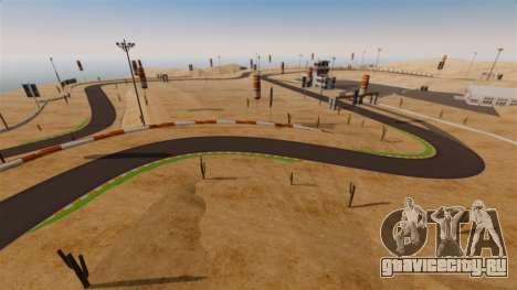 Локация DesertDrift ProStreetStyle для GTA 4 восьмой скриншот