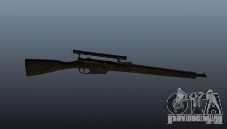 Снайперская винтовка Carcano для GTA 4 третий скриншот