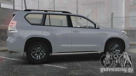 Toyota Land Cruiser Prado 150 для GTA 4 вид слева