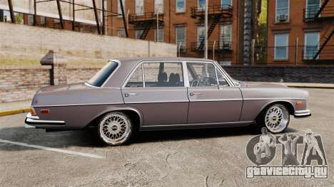 Mercedes-Benz 300 SEL 1971 для GTA 4 вид слева