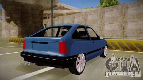 Chevrolet Kadett для GTA San Andreas вид справа