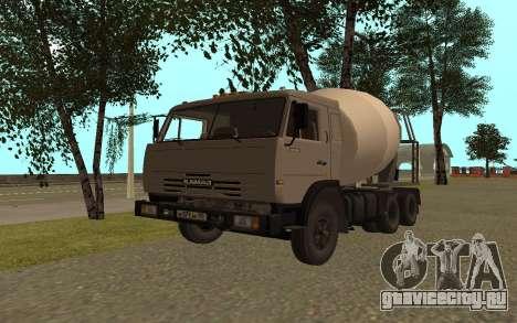 КамАЗ 53115 Цементовоз для GTA San Andreas