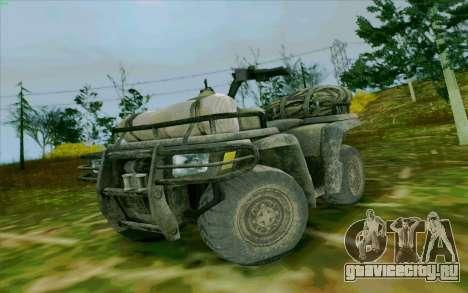 ATV из Medal of Honor для GTA San Andreas
