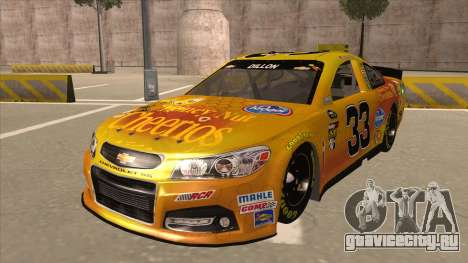 Chevrolet SS NASCAR No. 33 Cheerios для GTA San Andreas