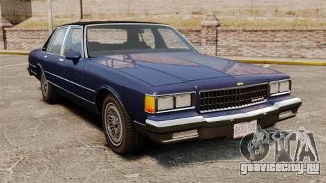 Chevrolet Caprice Brougham 1986 для GTA 4