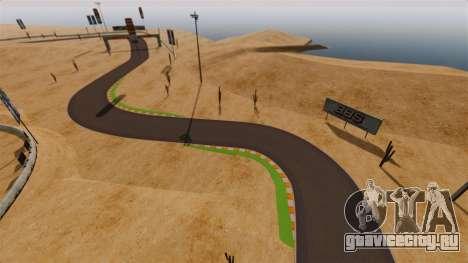 Локация DesertDrift ProStreetStyle для GTA 4 четвёртый скриншот