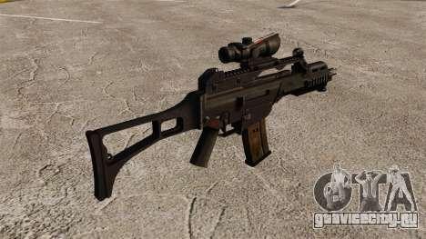 Автомат HK G36C v3 для GTA 4 второй скриншот