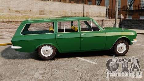 ГАЗ-24-02 Волга для GTA 4 вид слева