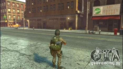 Русский солдат v 1.0 для GTA 4 второй скриншот