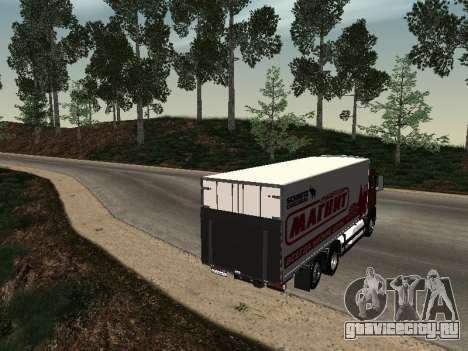 MAN TGA 26 350 Магнит для GTA San Andreas вид сзади слева