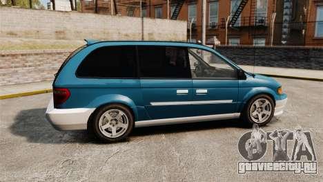 Dodge Grand Caravan 2005 для GTA 4 вид слева