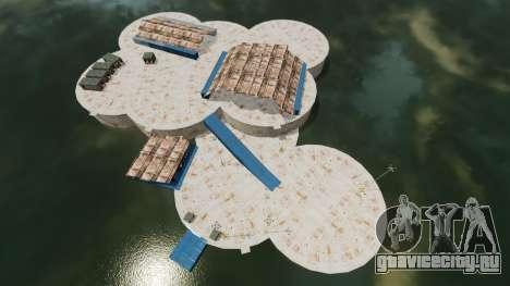 Военно-морская база для GTA 4