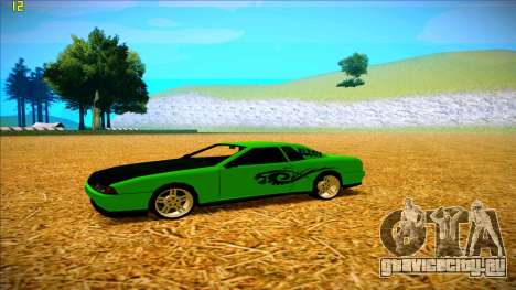 Paintjobs EQG Version for Elegy для GTA San Andreas третий скриншот